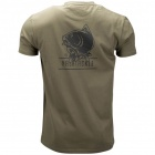 Тениска nash tackle green t-shirt
