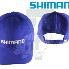 Shimano cap - olive & royal blue