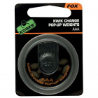 Тежести fox edges kwick change pop-up weight aaa