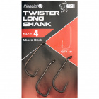 Куки за риболов nash pinpoint twister long shank hooks