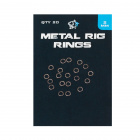 Халки nash metal rig rings за риболов