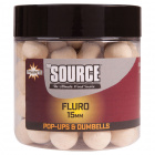 Pop up dynamite baits the source white fluro
