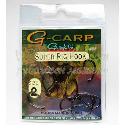 G - Carp SUPER RIG HOOK