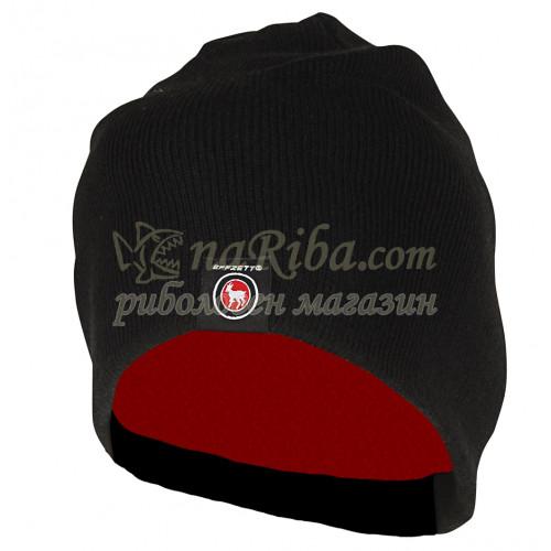 Зимна шапка EFFZETT KNITTED BEANIE WITH FLEECE
