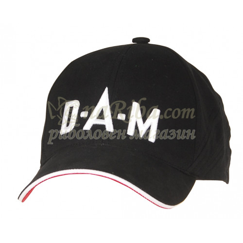 Шапка с козирка DAM CAP