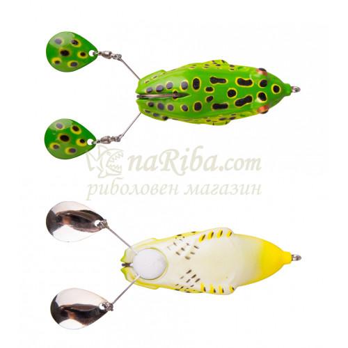 силиконова жаба 3D Spin Kick Frog