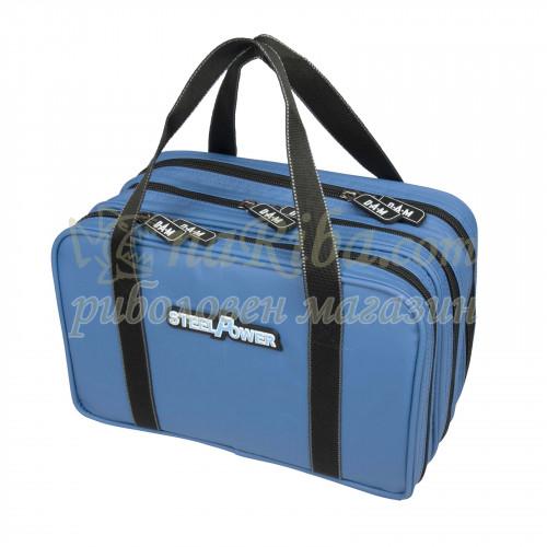 чанта STEELPOWER® BLUE WATER REPELLENT LURE BAG