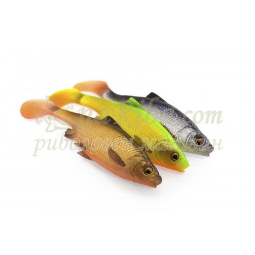 силиконови рибки 3D LB Roach Paddle Tail