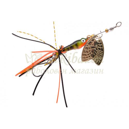 Larva Mayfly Micro Spinner Single Hook