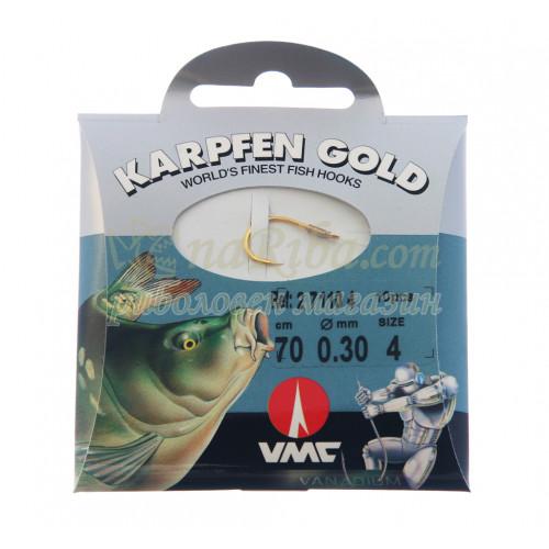 вързани куки 7110 Karpfen Gold